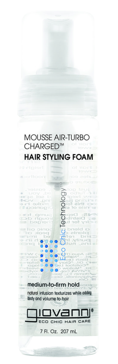 Mousse Air-Turbo Charged Hair Styling Foam